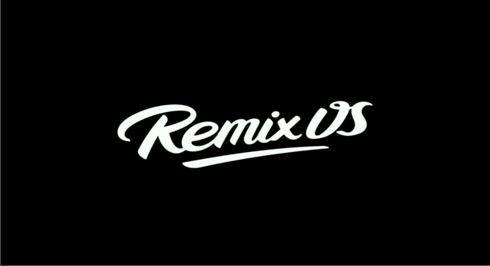 The RemixOS boot logo